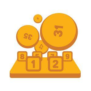 die offizielle europäische Lotterie EuroJackpot mit Jackpots bis zu 90 Mio